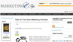 Marketing Tips for Authors