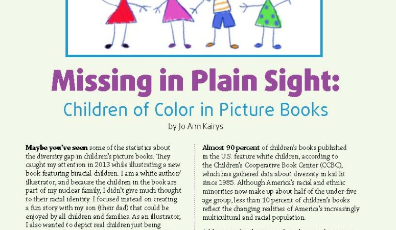 Children of Color in Picture Books