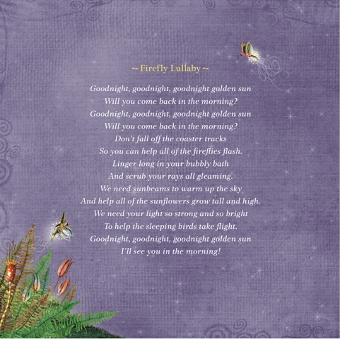 Firefly Lullaby Poem