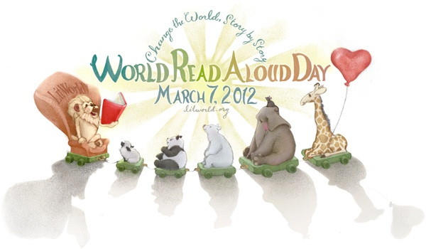 Bloggers Read Across America (BRAG) Celebrates World Read Aloud Day — March 7, 2012