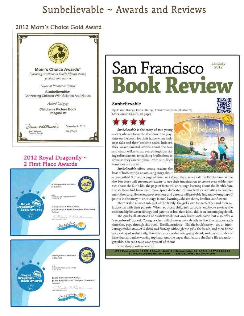 Sunbelievable Awards and Reviews including San Francisco Review