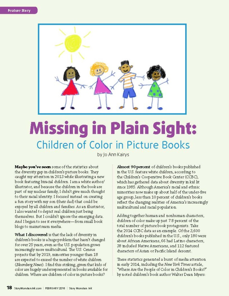 Missing in Plain Sight: Children of Color in P