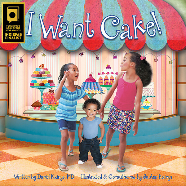 I Want Cake Book Cover